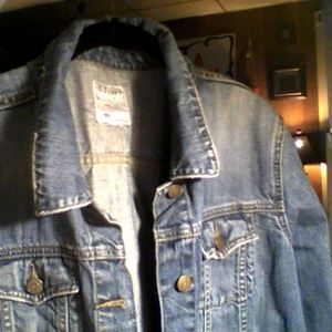 womens old navy denim jacket